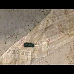 Ralph Lauren 💯 silk scarf.